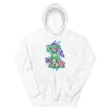 V2 Butterfly Girl Unisex Sweatshirt Featuring Original Artwork By IntoThaVoid