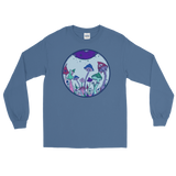Lavender Fairy Garden Unisex Long Sleeve T-Shirt