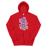 V3 Butterfly Girl Unisex Sweatshirt Featuring Original Artwork By IntoThaVoid