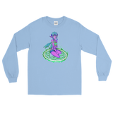 V4 Valora Unisex Long Sleeve Shirt Featuring Original Artwork By Fae Plur
