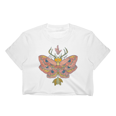 Nocturnal Golden Dawn Crop Top
