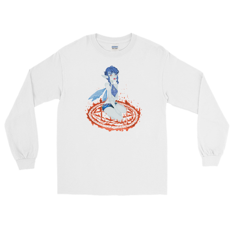 Ice Valora Unisex Long Sleeve Shirt Featuring Original Artwork By Fae Plur