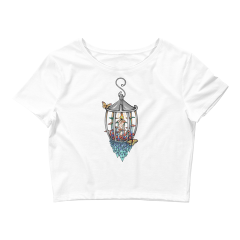 V5 Illuminate Crop Top Featuring Original Artwork by A Sage's Creations