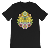 V2 Sacred Dragonfly Unisex T-Shirt Featuring Original Artwork By Abby Muench