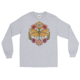 V4 Sacred Dragonfly Unisex Long Sleeve Shirt Featuring Original Artwork By Abby Muench