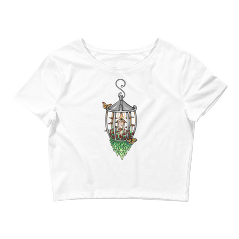 V9 Illuminate Crop Top .Featuring Original Artwork by A Sage's Creations