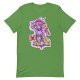 V3 Butterfly Girl Unisex T-Shirt Featuring Original Artwork By IntoThaVoid