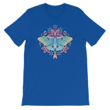 V2 Sacred Lunar Moth Unisex T-Shirt Featuring Original Artwork by Abby Muench