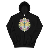 V5 Sacred Dragonfly Unisex Sweatshirt Featuring Original Artwork By Abby Muench