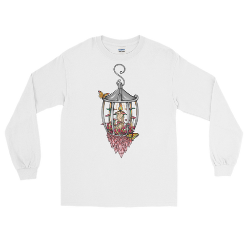 V1 Illuminate Unisex Long Sleeve Shirt Featuring Original Artwork by A Sage's Creations