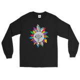 Rainbow Crystal Fairy Unisex Long Sleeve T-Shirt