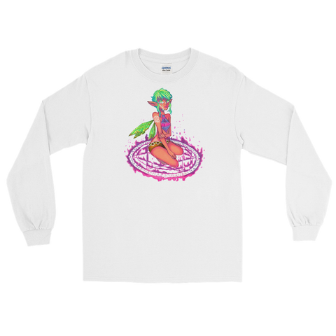 Valora Unisex Long Sleeve T-shirt Featuring Original Artwork By Fae Plur