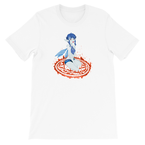 Ice Valora Unisex T-Shirt Featuring Original Artwork By Fae Plur