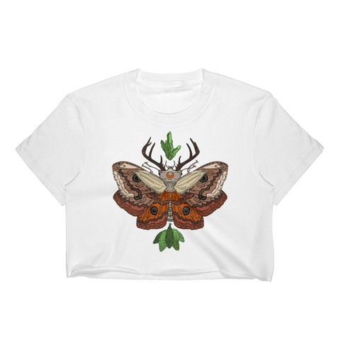 Nocturnal Deep Woods Crop Top