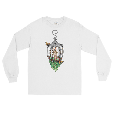 V9 Illuminate Unisex Long Sleeve Shirt Featuring Original Artwork by A Sage's Creations