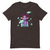 V3 Orchid Faerie Unisex T-Shirt Featuring Original Artwork by Fae Plur Designs