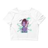 V3 Orchid Faerie Crop Top Featuring Original Artwork by Fae Plur Designs