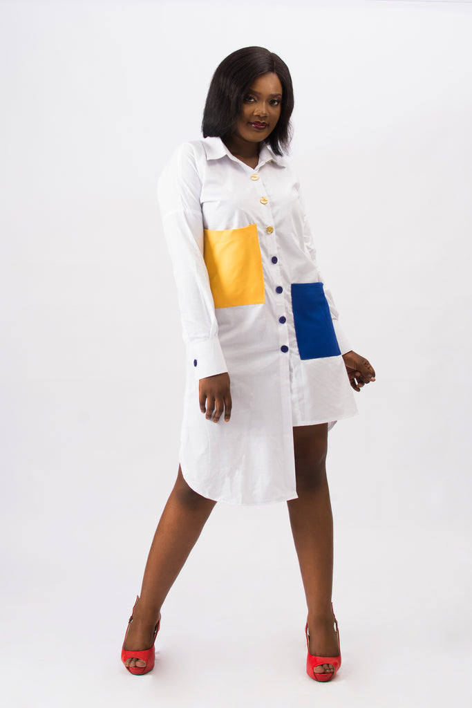 Nenye Shirt Dress