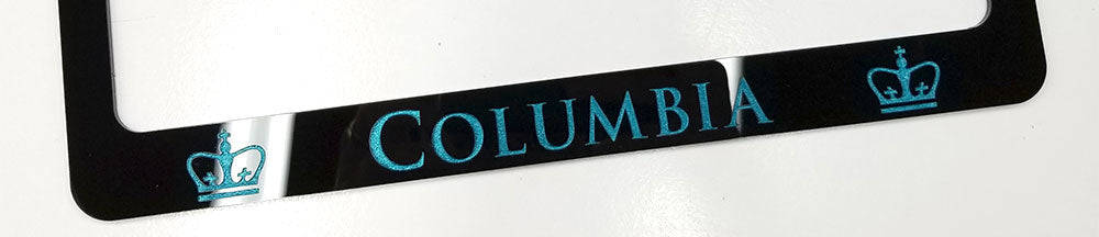 Columbia License Plate Frame
