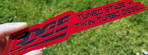 Stage 4 Twin Turbo Diesel Emblem