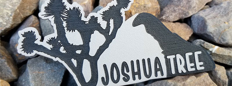 Textured Joshua Tree Emblem