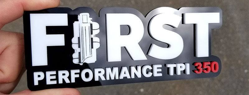 First Performance TPI 350 Emblem
