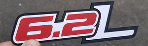 6.2L 3-Color Composite Emblem