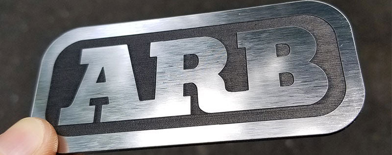 ARB Brushed Stainless Composite Badge