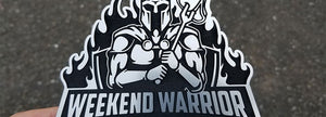 Weekend Warrior BBQ Emblem