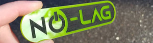 No-Lag Lime Green Emblems