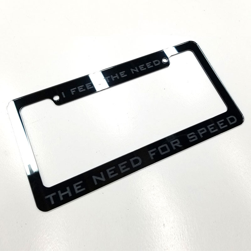 Need For Speed license plate frame