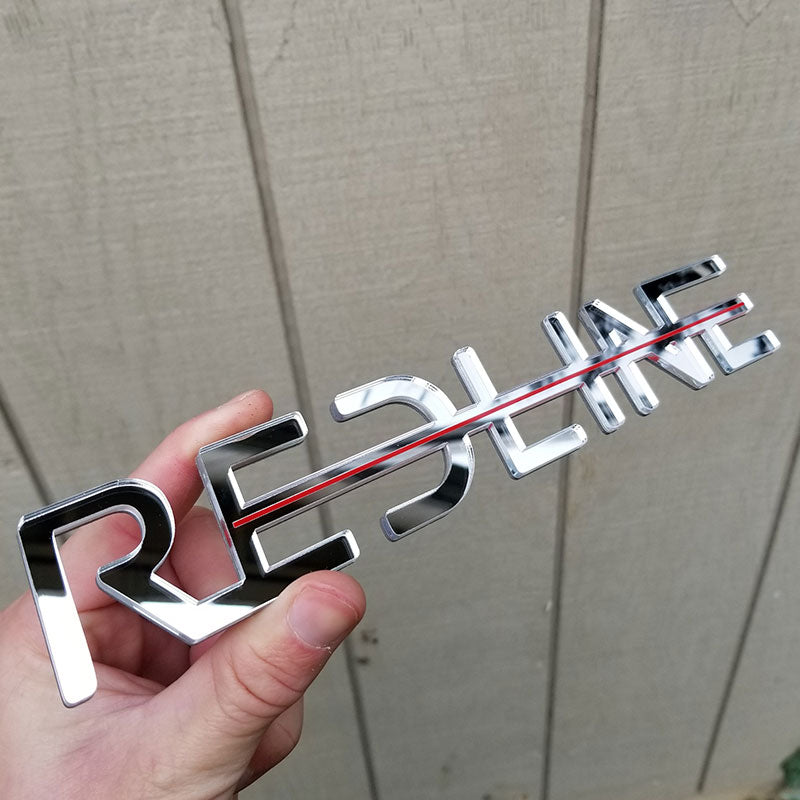 custom chrome cutout letters