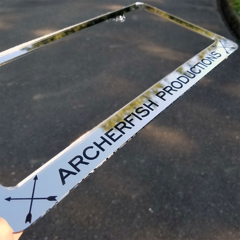 Archerfish Productions chrome frame