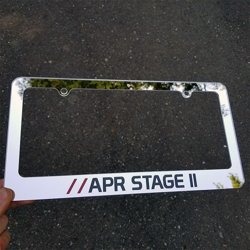 APR Stage II License Plate Frame