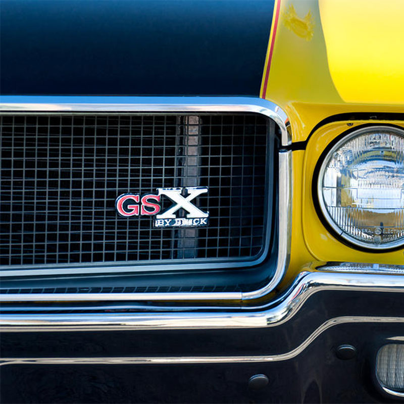 buick gsx badge