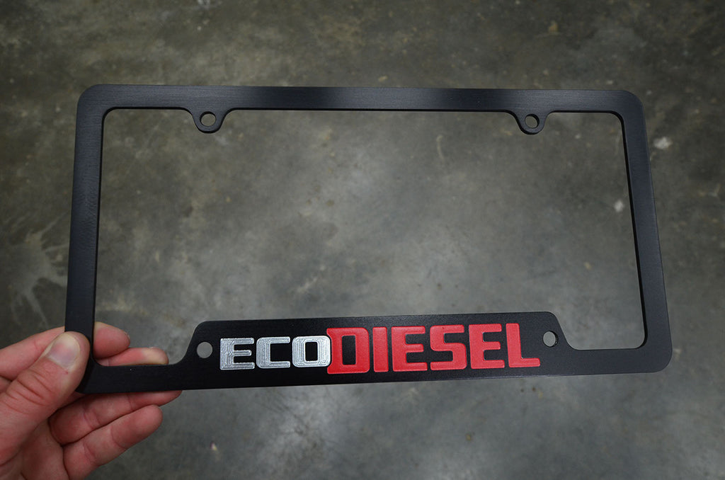 Eco Diesel License Plate Frame