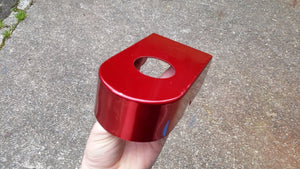CANDY RED POWDER COAT