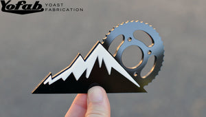 Custom made Mountain Bike Emblem