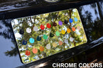 Custom Engraved Chrome License Plate Frames