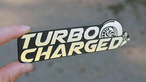Turbocharged Emblem