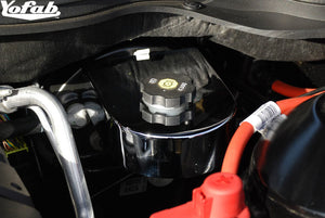 2010 Camaro Chrome Brake Fluid Cover Installed
