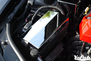 2010 Camaro Chrome Fuse Box Cover Installed