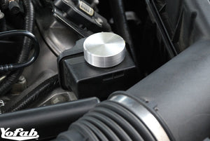 2010 Camaro Power Steering Billet Cap Installed