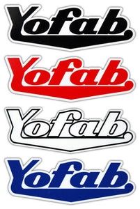 Yofab Sticker - Logo
