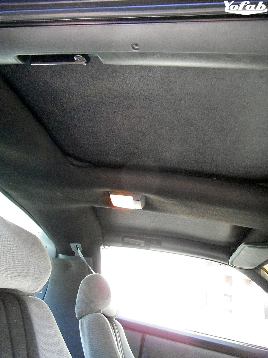 Buick Regal T-Top Sun Shade Installed