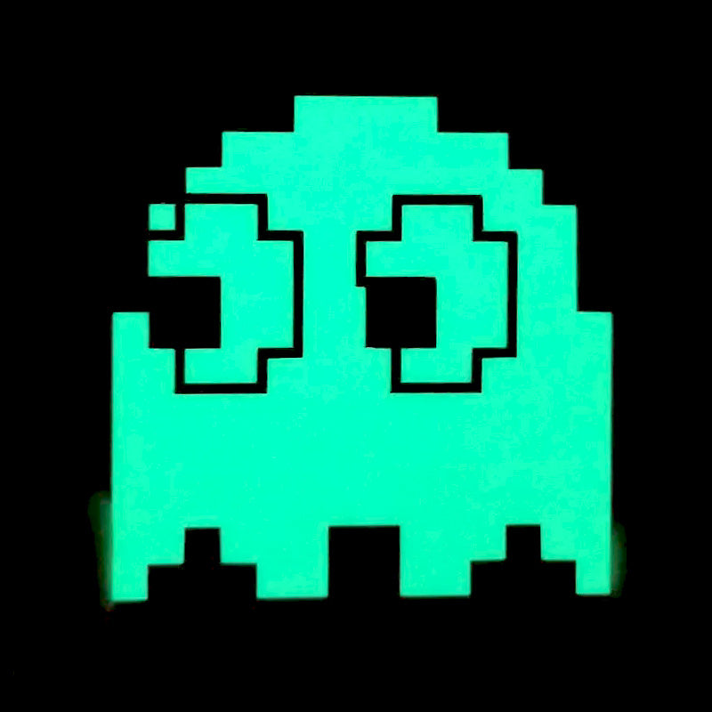 Glow in the dark emblem