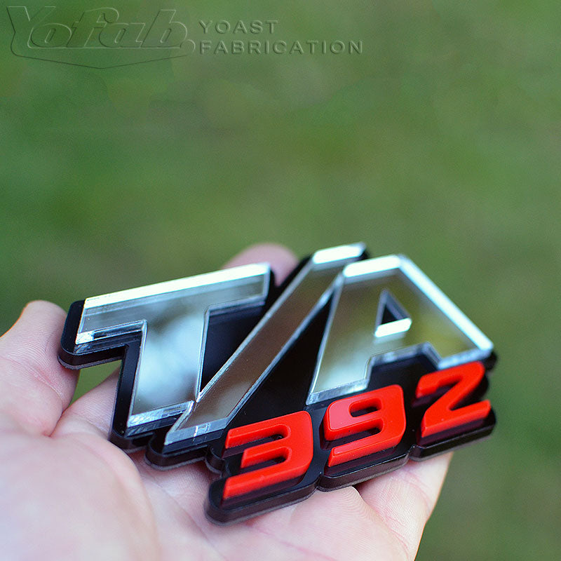 Custom automotive emblem