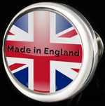 Made in England cufflink