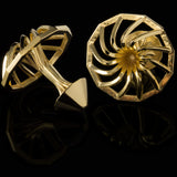 Turbine (18K gold plated)