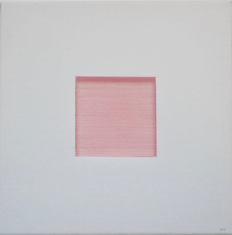 One Pink Square by Nathan Coburn